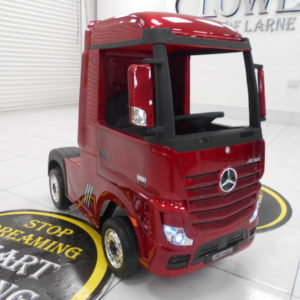 2020 KIDS ELEC RIDE ON LORRY MERCEDES ARTIC (PAINTED)