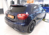 2018 MERCEDES A160 1.6 AMG LINE with BLACK LEATHER